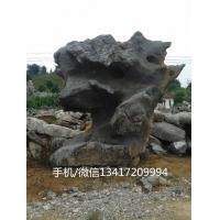 浙江太湖石价格 园林景观置石 湖边驳岸石 大型假山石
