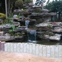 优质广东黄蜡石鱼池假山石河卵石驳岸石草坪石点缀绿地景石鱼景石