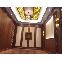 中式风格图片 室内竹木纤维板图片 快装墙板装修图片