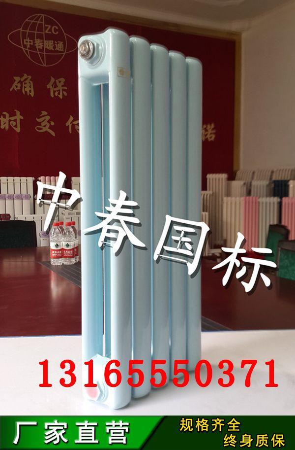 厂家直销钢二柱散热器 QFGGZ209钢二柱暖气片