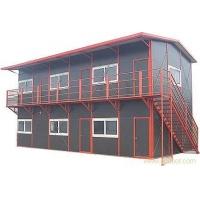 苏州岩棉板活动房 组合式彩钢岩棉活动房