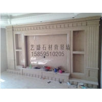 大理石背景墙YS0001