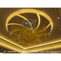 酒店艺术飘带灯具