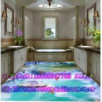 小溪石墩桥客厅3D地板砖规格 小溪石墩桥浴室3D地板砖尺寸多