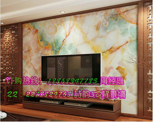 瓷砖仿玉石背景墙,客厅仿玉雕电视背景墙