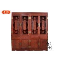 东阳红木家具/东阳鲁创红木家具/办公书柜/文件柜/多宝阁
