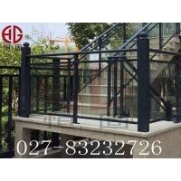 锌钢玻璃栏杆——玻璃夹式及玻璃凹槽式