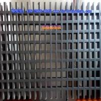 四川欧百建材铝格栅/塔型铝格栅/三角形铝格栅