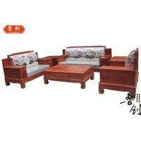 古典明清花梨木中式家具红木工艺客厅沙发组合