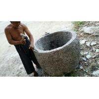 山东嘉祥天业石材 青石仿古老石缸  纯手工制作