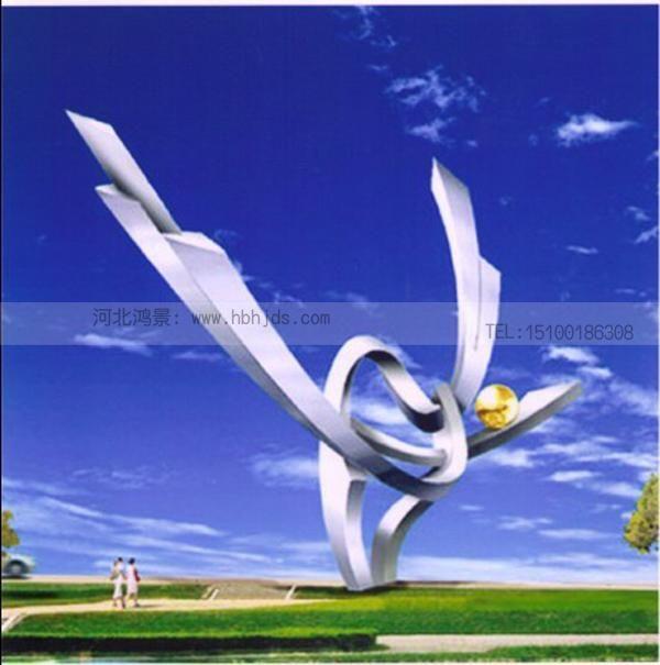 亚光不锈钢雕塑图片设计