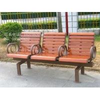 铸铁防腐木公园椅—方贸园林设施