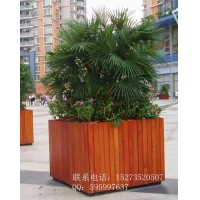 方贸园林可定做各种款式景观花箱,湖南郴州街道树围花箱
