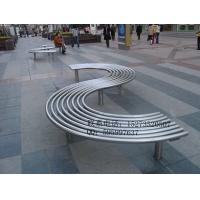 【方贸园林设施】品牌公园椅定做工厂,艺术不锈钢休闲椅
