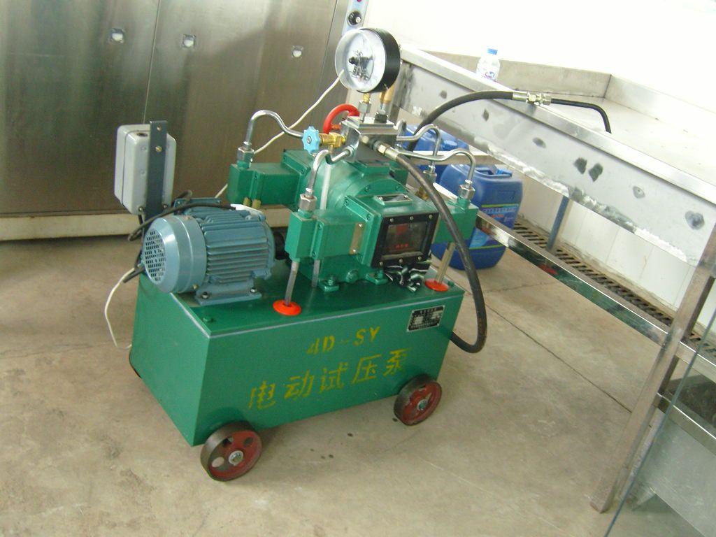 氧气瓶水压实验专用禁油电动试压泵
