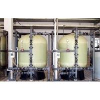 曲靖井水除铁锰设备地下水发黄处理锰砂过滤器