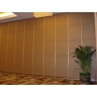 酒店多功能厅内应用移动隔断门65系列