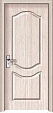 供应千佰亿免漆套装门 pvc门 卧室门 室内门