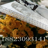 蜂窝阳光板-10mmPC透明蜂窝形状阳光板