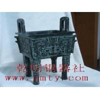 江苏上海仿古青铜器方鼎 青铜鼎铸造上博大克鼎
