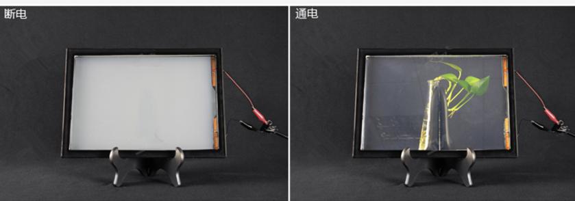 禾维液晶调光玻璃