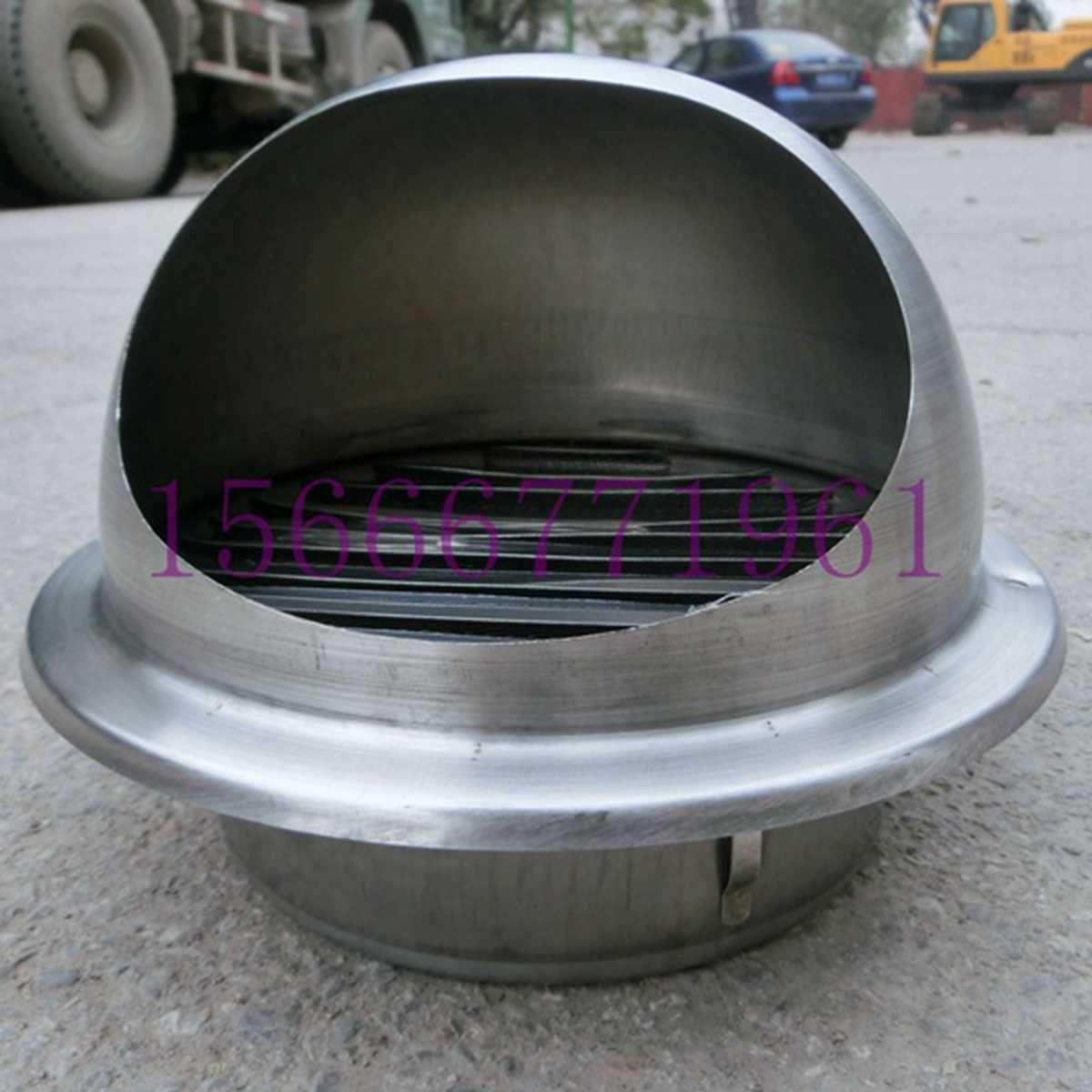 室外 烟筒防风帽 不锈钢厨房 卫生间烟道防风帽防