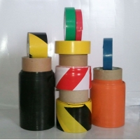 供应斑马胶带 普通警示胶带 地板胶带  划线胶带