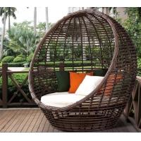 藤椅懒人沙发露天休闲编藤蛋形躺床庭院花园鸟巢沙发