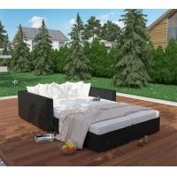 户外休闲藤沙发组合海边沙滩沙发床庭院阳台露天沙发阳光房休息厅
