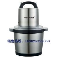 惠尔普斯HC-60商用不锈钢绞肉机5L 电动碎肉绞肉机搅拌机