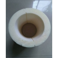聚氨脂保温管壳岩棉保温管直埋管管壳两片式