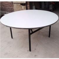 1.3米PVC折叠圆形餐桌