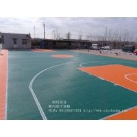 山东 软悬浮拼装地板软篮球场地板