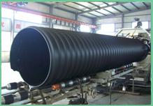 钢带增强聚乙烯(HDPE)螺旋波纹管