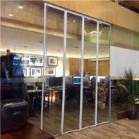 强磁自吸式磁性透明软门帘、商场超市专用透明软门帘