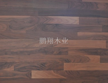 供应鹏翔PXBWT-881黑胡桃三拼地板
