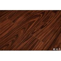 供应多层实木地板/PX9007酸枝色地板
