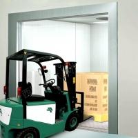 3噸貫通門旁開載貨電梯,有機房5噸提升高度25米貨運電梯品牌