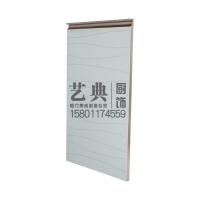 艺典 波浪纹 防水门板 厨房柜门  订做 晶钢门 玻璃门 橱