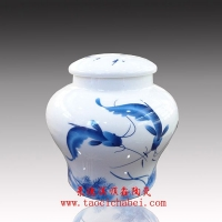 骨瓷茶叶密封罐,骨瓷茶叶防潮罐,景德镇陶瓷茶叶罐