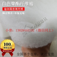 【坤耐】无锡40kg25mm普通环保聚酯纤维棉隔音棉