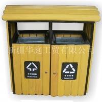 新疆垃圾桶/新疆环卫垃圾桶抗紫外线耐用/华庭果皮箱HTSM-