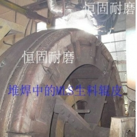 堆焊提供水泥生料磨辊皮焊补