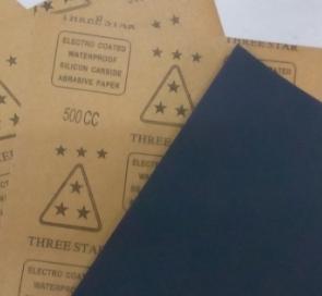 汽车专用砂纸——三星水砂纸,修复划痕不堵耐水性好
