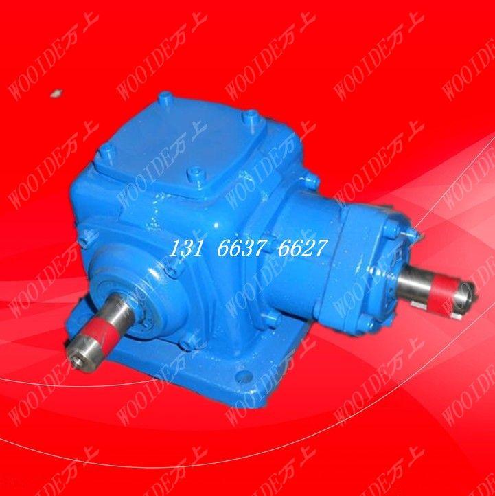 万上正品T6-2:1-1-L-B3锥齿轮换向器