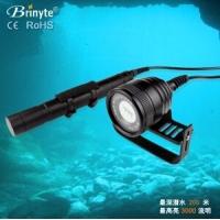 专业潜水手电筒潜水手电Brinyte DIV10V
