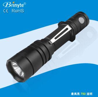 专业战术手电筒 Brinyte B108 CREE 强光远射