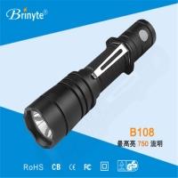 战术手电筒Brinyte B108户外强光狩猎手电