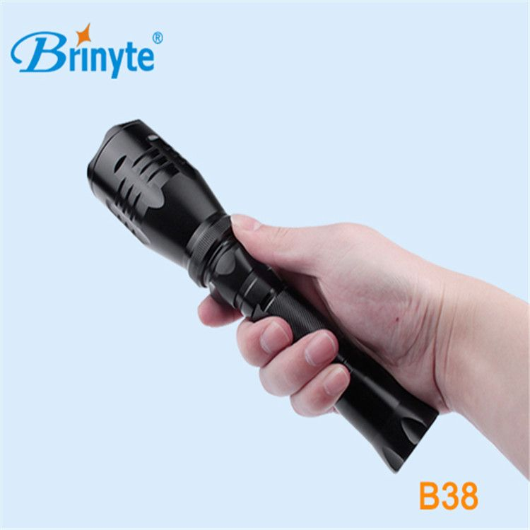 Brinyte远射王B38 打猎手电筒野外照明强光防水防爆
