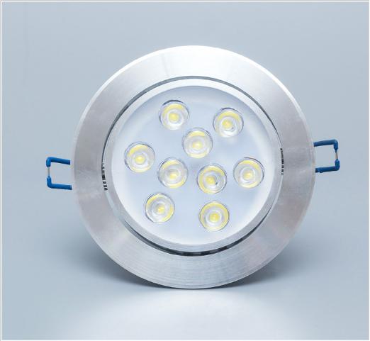 LED天花灯射灯过道灯走廊灯客厅吊顶灯天花灯牛眼灯洞孔灯